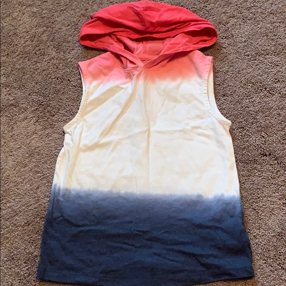Boys Cat and Jack Tank with Hood